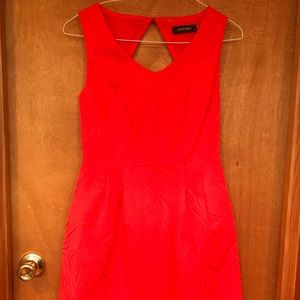 *3/$30* Bright Orange Fit and Flare Dress